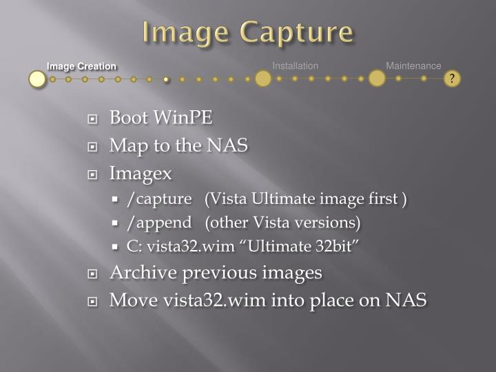 Image Capture