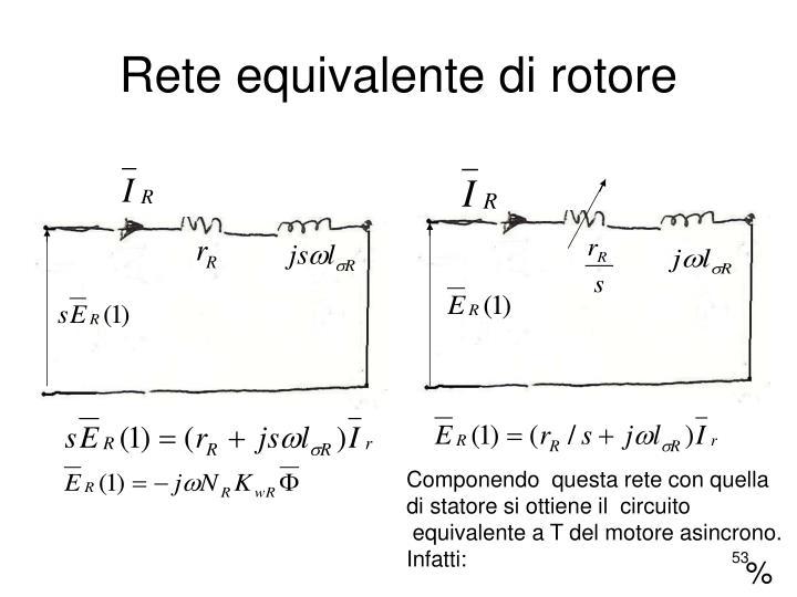 Rete equivalente di rotore