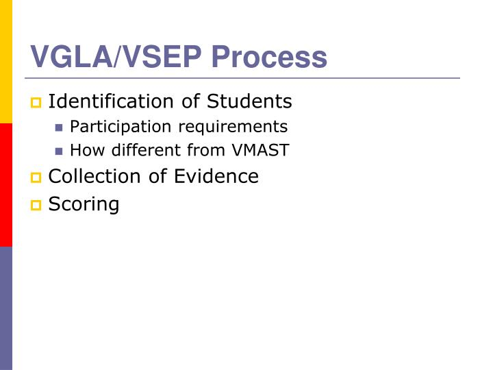 VGLA/VSEP Process