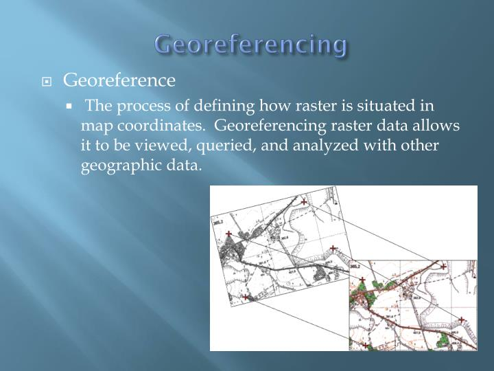 Georeferencing
