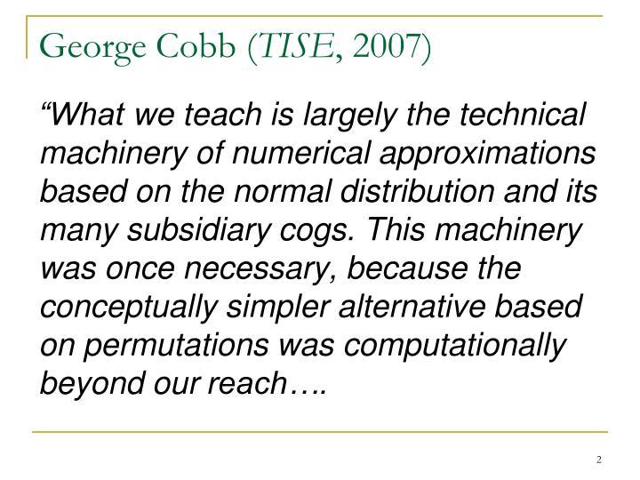 George Cobb (
