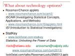 what about technology options3