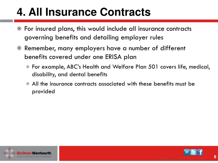 4. All Insurance Contracts