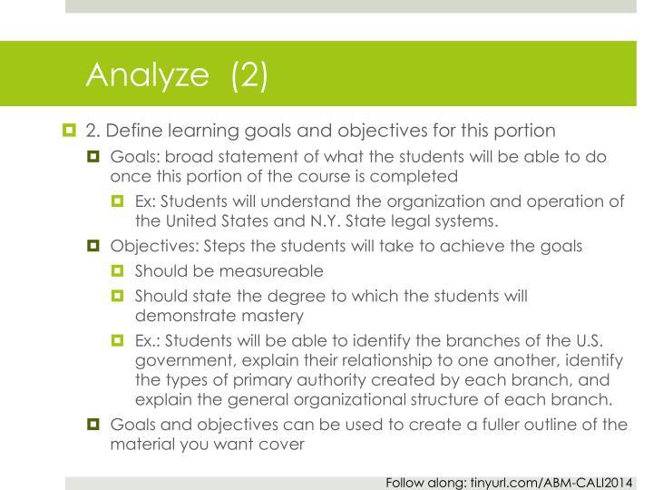 Analyze  (2)