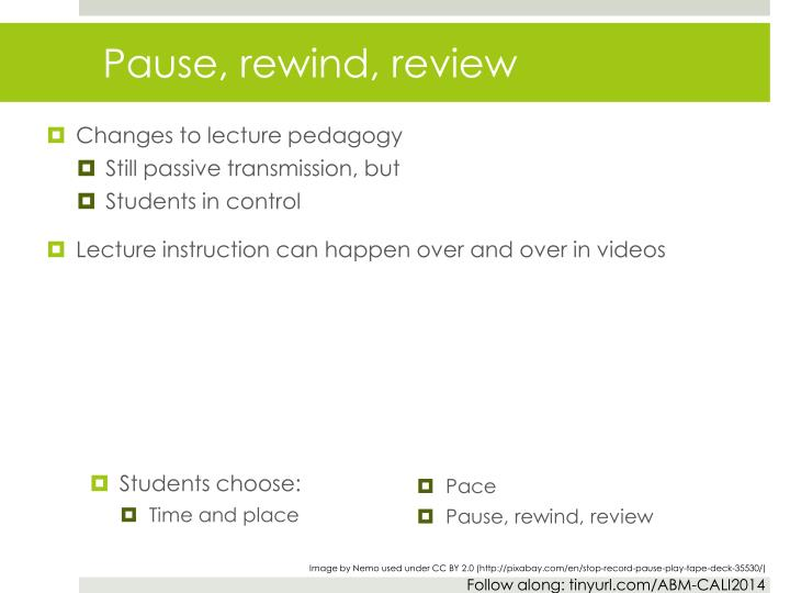 Students choose: