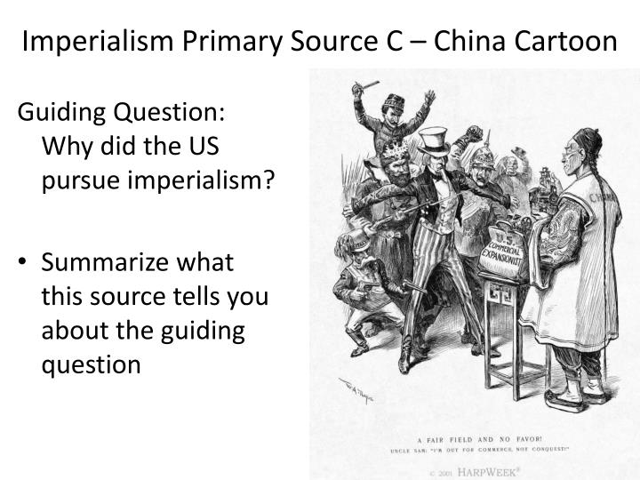 Imperialism Primary Source C – China Cartoon
