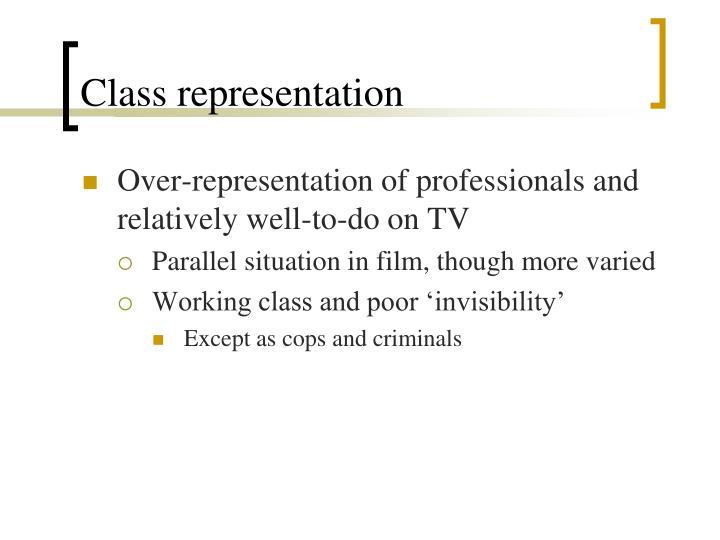 Class representation