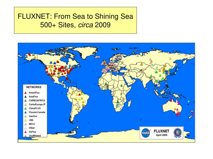 FLUXNET: From Sea to Shining Sea