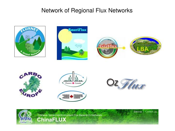 Network of Regional Flux