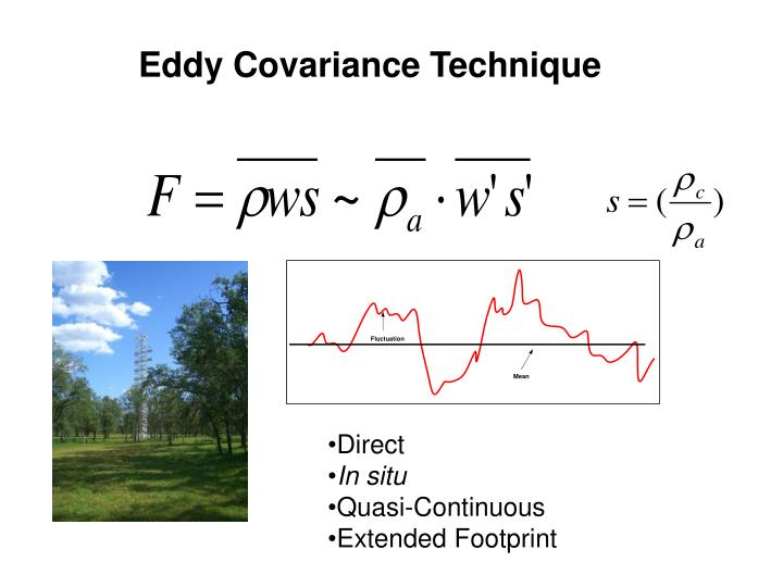 Eddy Covariance Technique