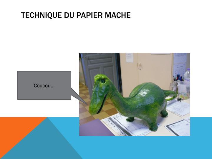 Technique du papier