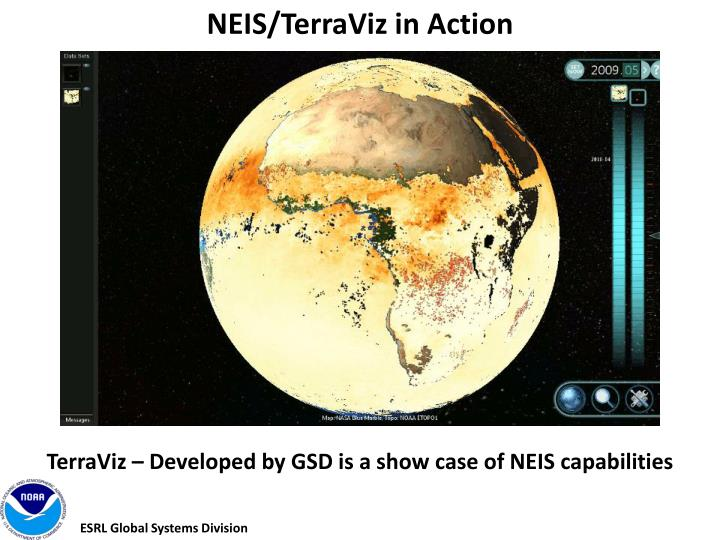 NEIS/TerraViz in Action