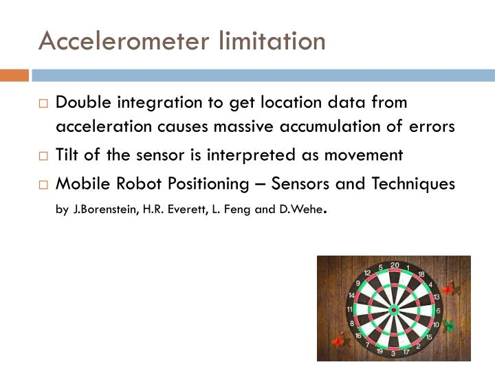 Accelerometer limitation