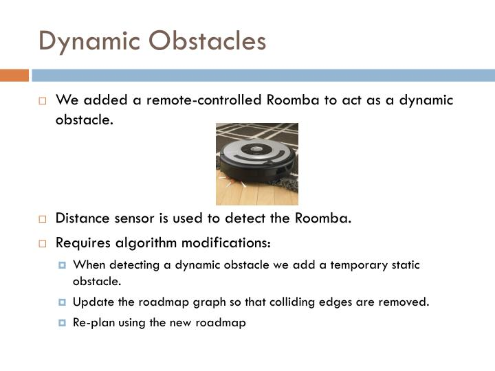 Dynamic Obstacles