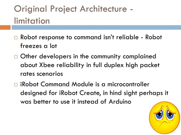 Original Project Architecture