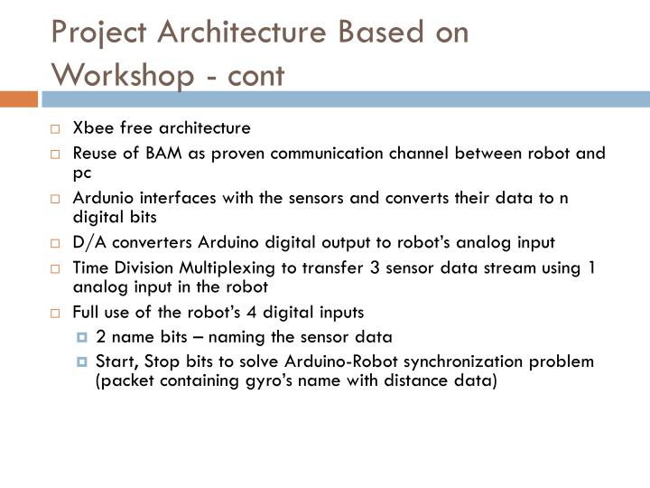Project Architecture Based on