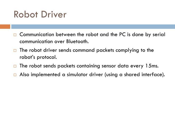 Robot Driver