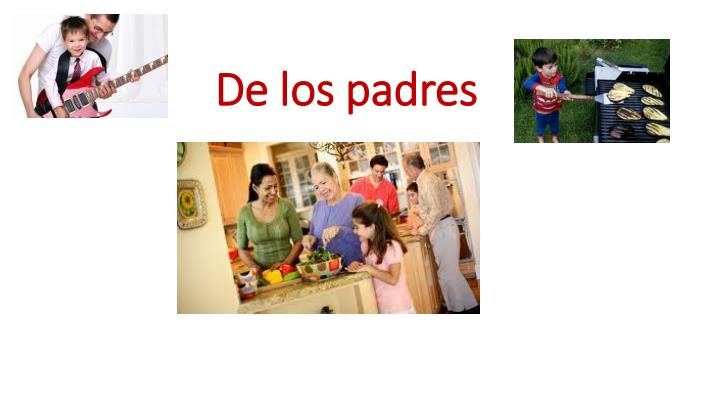 De los padres
