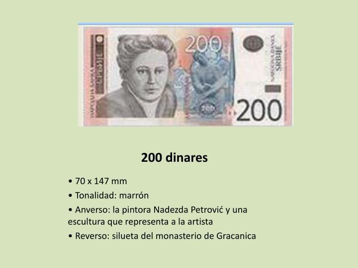 200 dinares