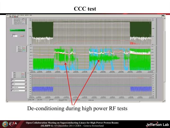CCC test