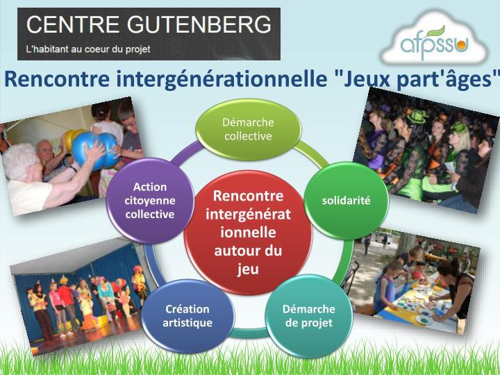"""Rencontre intergénérationnelle """"Jeux"""