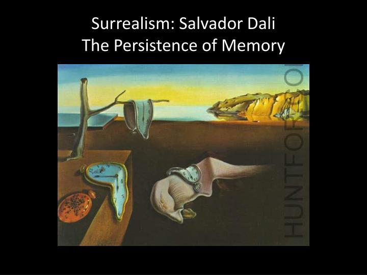Surrealism: Salvador Dali