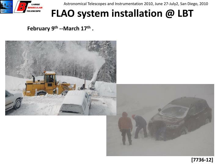 FLAO system