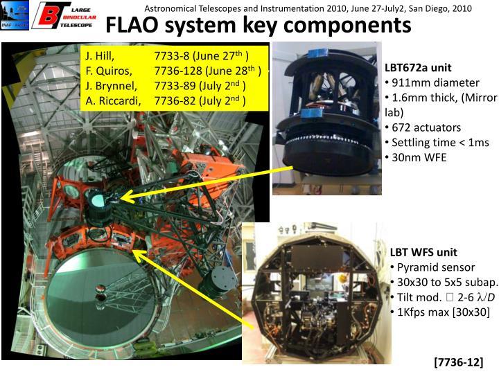 FLAO system key