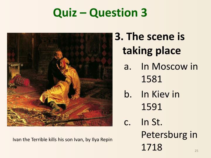Quiz – Question