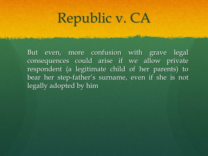 Republic v. CA