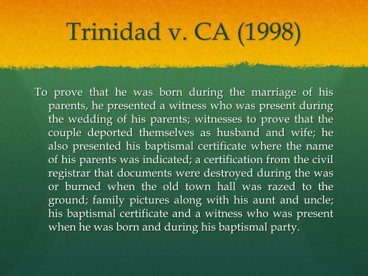 Trinidad v.