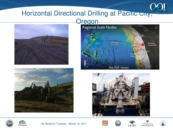 Horizontal Directional Drilling at Pacific City, Oregon