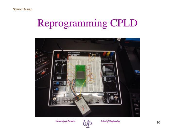 Reprogramming CPLD