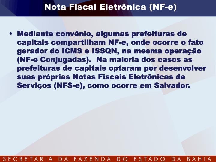 Nota Fiscal Eletrônica (
