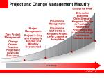 project and change management maturity