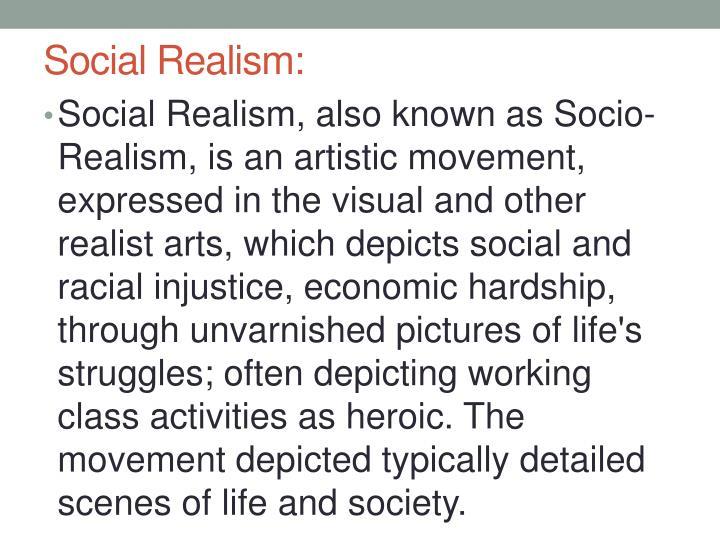 Social Realism: