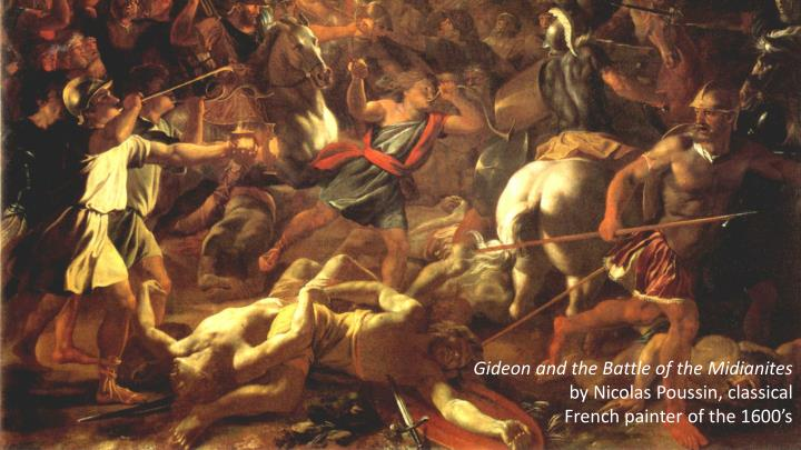 Gideon and the Battle of the Midianites