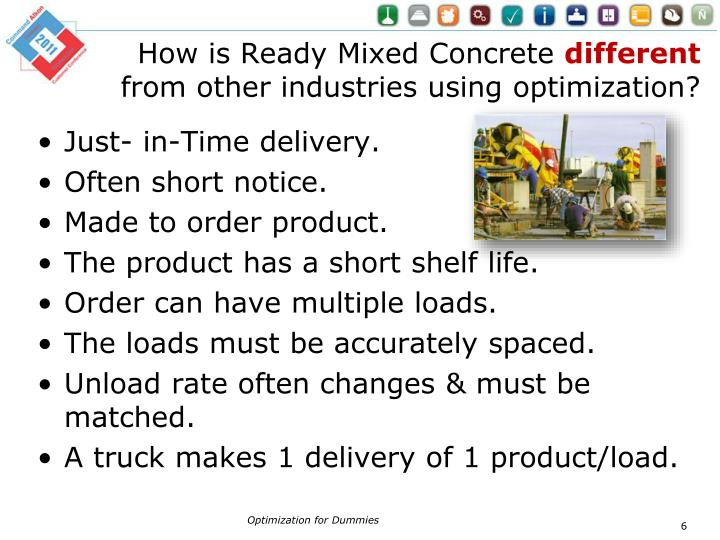 How is Ready Mixed Concrete