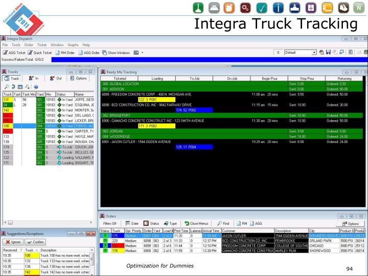Integra Truck Tracking