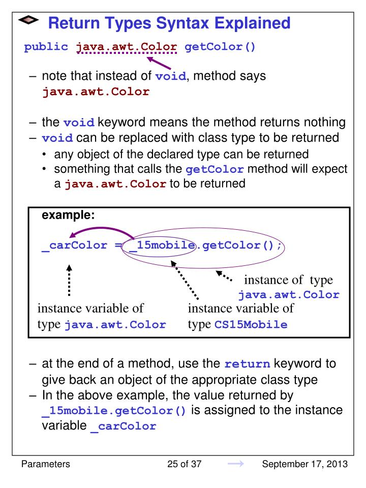 Return Types Syntax Explained