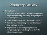 discovery activity
