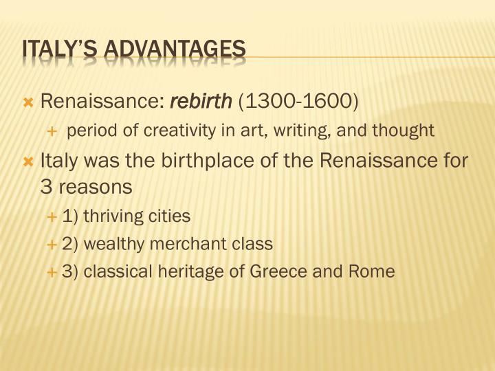 Renaissance: