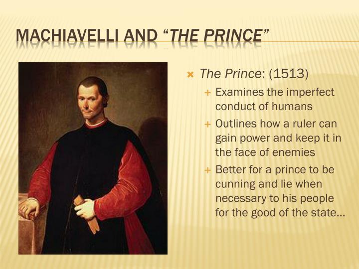 """Machiavelli and """""""