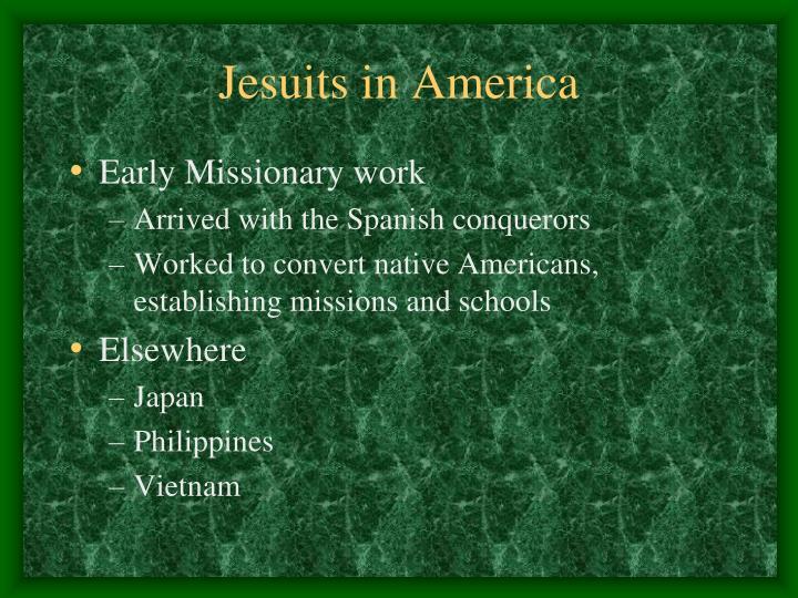 Jesuits in America