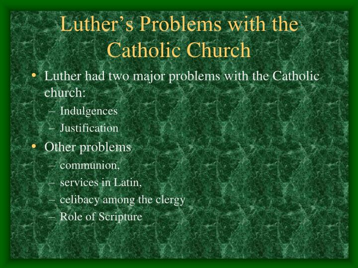 fundamental problems with the catholic church Us catholics open to non-traditional families  moreover, many us catholics would like the catholic church, as an institution, to adopt a more flexible or .