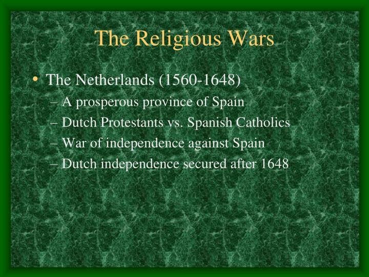 The Religious Wars