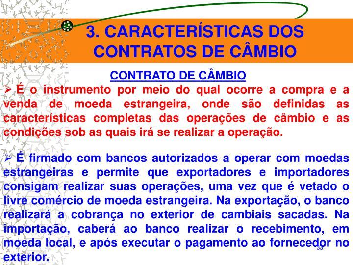 3. CARACTERÍSTICAS DOS