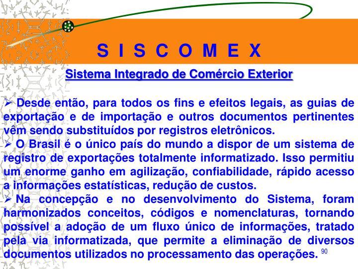 S  I  S  C  O  M  E  X