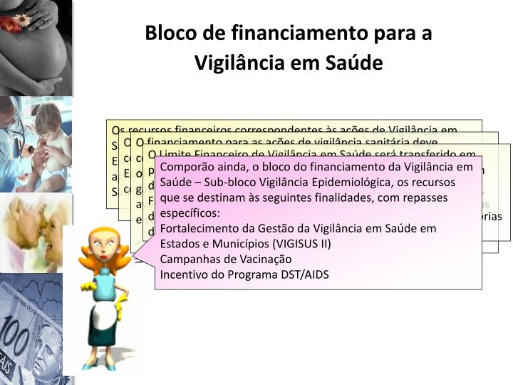 Bloco de financiamento para a