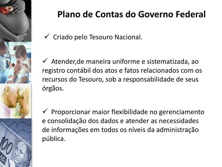 Plano de Contas do Governo Federal
